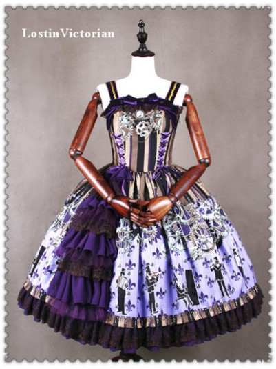 *Classical Puppets* Luxury Steam Punk JSK Lolita Dress