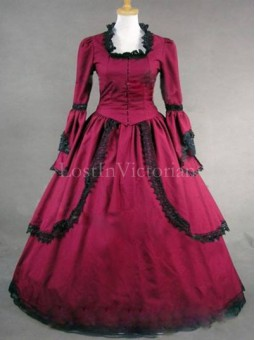 18th Century Georgian American Colonial Period Dress Reenactment Clothing for Ladies