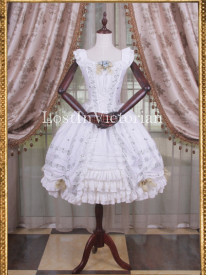 *Classical Puppets* The Young Elizabeth Inspired Lolita Dress