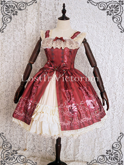 *CMlolita* Sleeping Beauty Princess Aurora Inspired Lolita Dress Prom Tea Party Dress