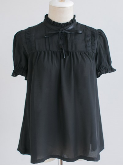 *DollyDelly* Long/Short Sleeves Sweet Girl Chiffon Lolita Blouse