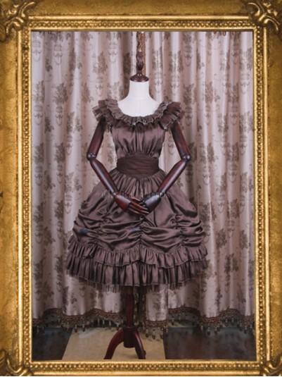 *Classical Puppets* Elisabeth Elegy Short One Piece JSK Lolita Dress