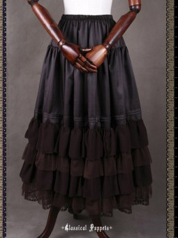 *Classical Puppets* Steam Band Deluxe Long Underskirt
