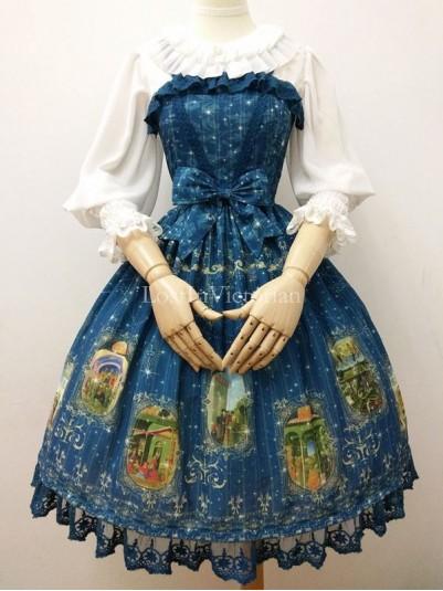 2016 New TAROT Series Chiffon JSK Lolita Dress