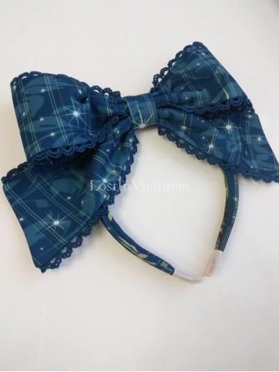 Yilia TAROT Series Chiffon Lolita KC Headbow