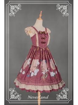 *Neverland* ~The Inlaid Harp~ Chinese Style JSK Lolita Dress