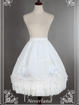 *Neverland* Gorgeous Cotton Puffy Petticoat/Underskirt