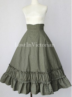 Elegant Ladies Victorian Lolita Skirt