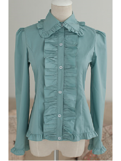 *DollyDelly* Sweet Doll Collar Ruffle Lolita Blouse