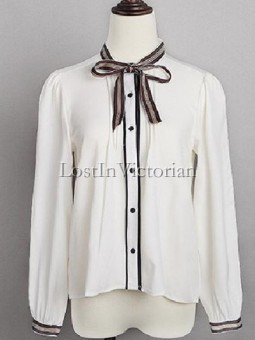 Vintage College Sweet Style Blouse