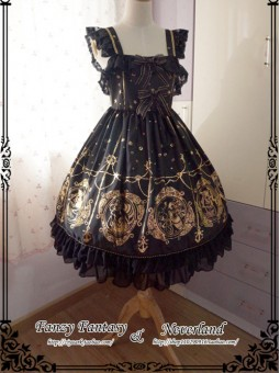 *Neverland* THE MERMAID SONG JSK Gothic Vintage Lolita Dress
