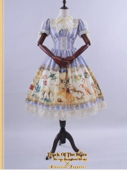 *Classical Puppets* Track of the Stars Fairyland Sweet Lolita OP Dress