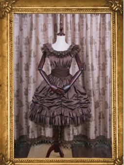 *Classical Puppets* Elisabeth Elegy Short One Piece JSK Lolita Dress