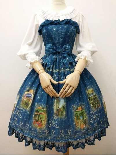2016 New TAROT Series Chiffon JSK Lolita Dress