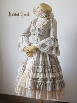 Rabbit Teeth ~Myosotis Sylvatica~ Vintage Classic Lolita OP Dress