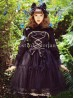 *TANARA.L* Girls Black JSK Gothic Lolita Dress