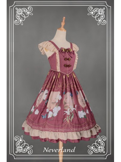 *Neverland* ~The Inlaid Harp~ Chinese Style JSK Lolita Dress