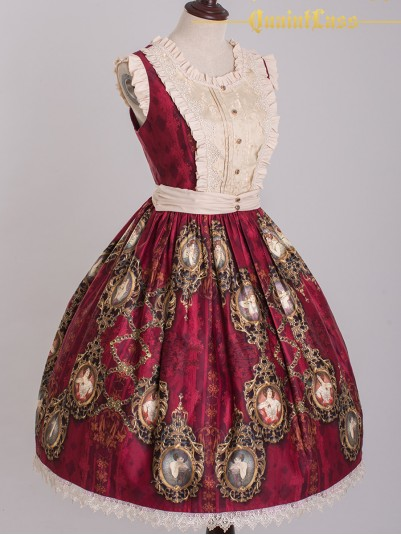 *QuaintLass* ~Jewel Hymn Alphonsus~ Classic Lolita JSK Dress