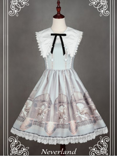*Neverland* ~Chrono Guardian~ Sailor Collar Lolita JSK Dress