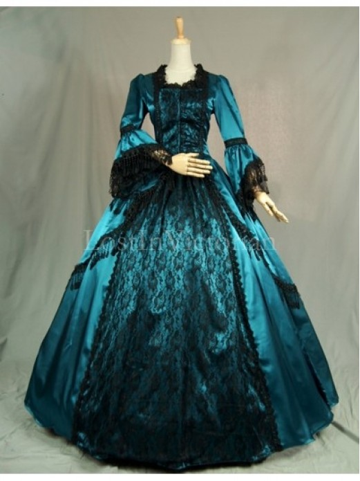 Victorian Wedding Dress, Renaissance Wedding Gowns – LostInVictorian
