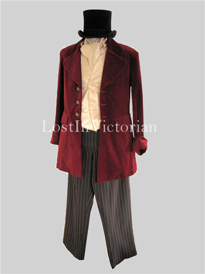 Men's Victorian Edwardian Costume
