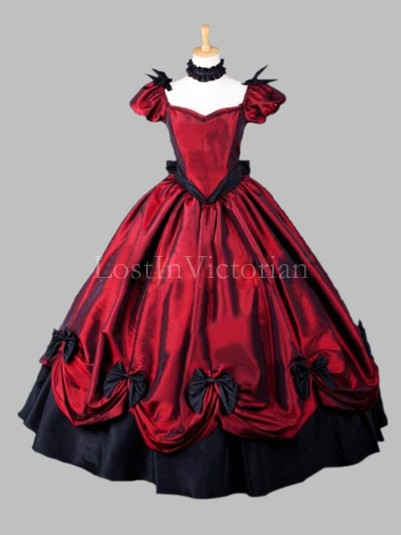 Gothic Victorian Southern Belle Dress Halloween Costume