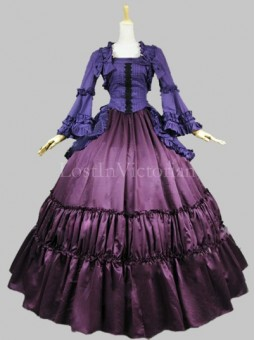 Historical 19th Century Victorian Civil War Inspired Dress Theatre Reenactment Clothing