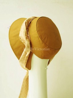 Retro Victorian Ear Bonnet for Ladies