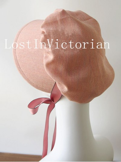 19th Century Victorian Ear Bonnet for Ladies