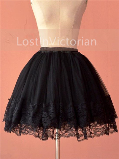 Multi-layer Gauze Lace Puffy Lolita Petticoat/Underskirt All-match Style