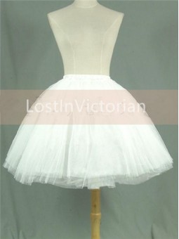 Multi-layer Gauze Puffy Lolita Petticoat/Underskirt All-match Style